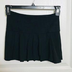Lululemon Black Tennis Skort Size 2